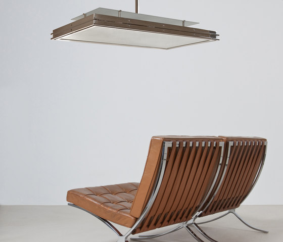 "Pendant Lamp ""Tempelhof "" in the style of the German Modernism de ZEITLOS – BERLIN"