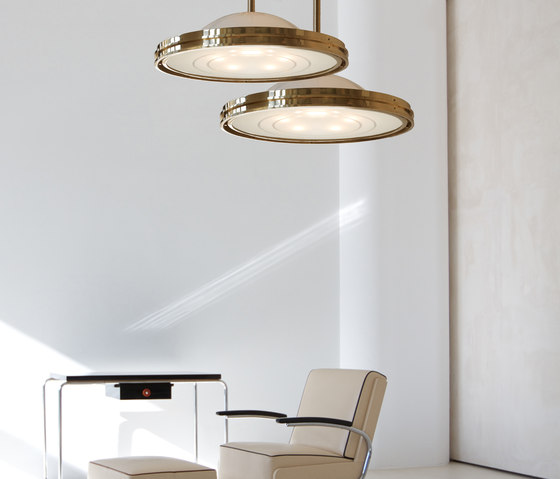 "Pendant Lamp ""Berlin"" in the style of the Bauhaus Modernism de ZEITLOS – BERLIN"