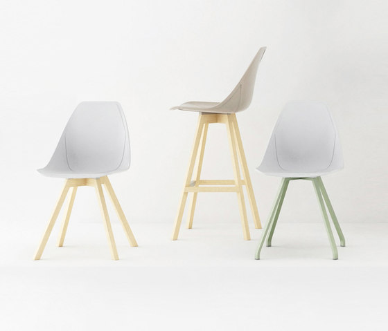 X Bar stool by ALMA Design