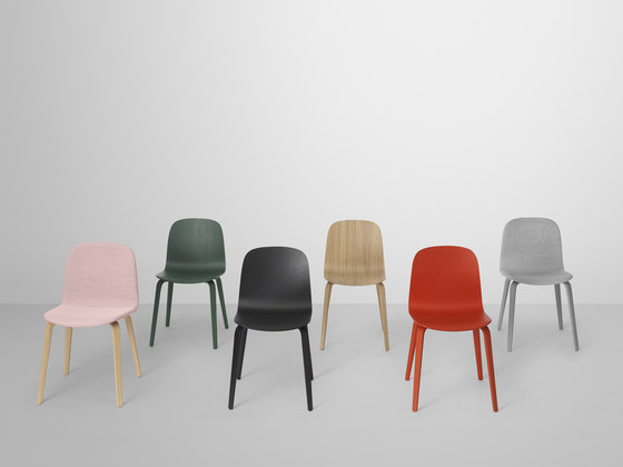 Visu Chair | wood base di Muuto