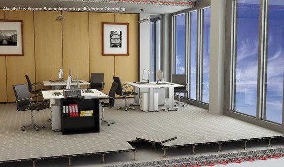 acoustic floors de Lindner Group