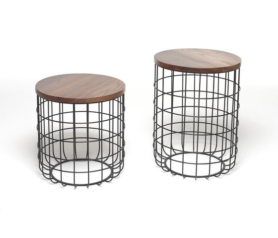 Wire Group Sidetable de Dare Studio