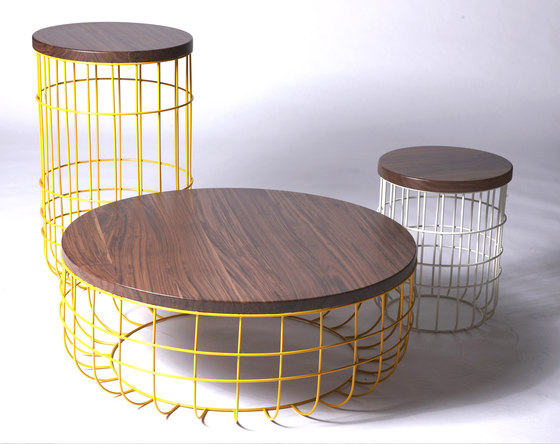 Wire Group Sidetable by Dare Studio