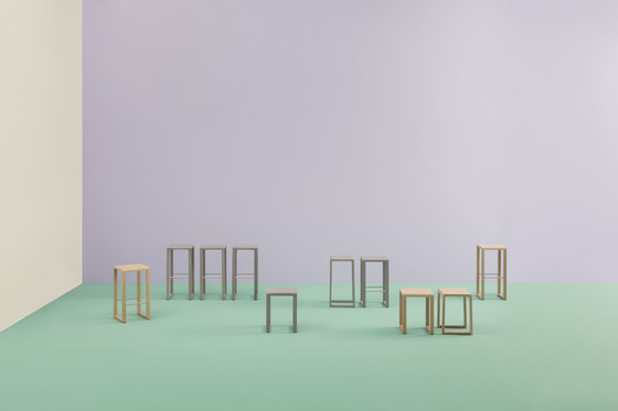Brera stool by PEDRALI