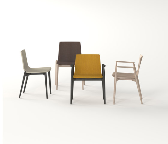 Malmö Chair 390 by PEDRALI