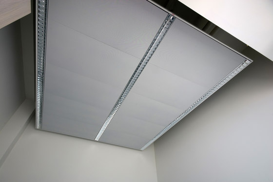Canopy ceilings by Lindner Group