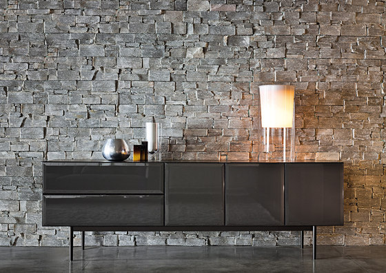 Morrison night stands by minotti architonic for Sideboard 3m lang