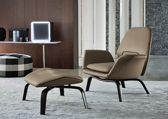 gilliam armchairs from minotti architonic. Black Bedroom Furniture Sets. Home Design Ideas