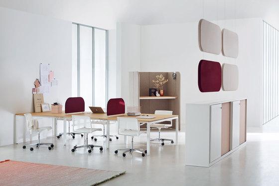 U4 Series Desk by ophelis