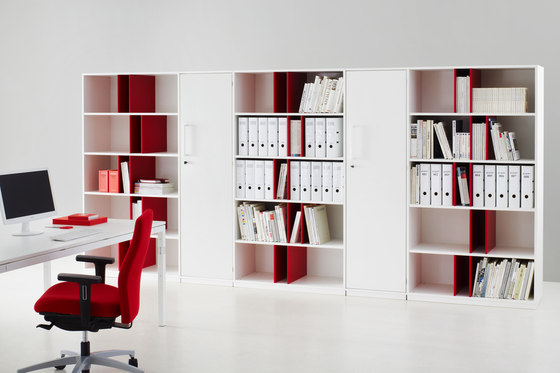 Shelving system facett by ophelis