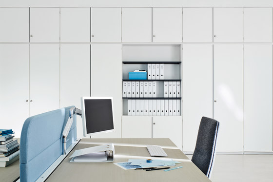Dividing cabinet aluminium by ophelis