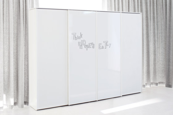 glider Front running door cupboard system di ophelis