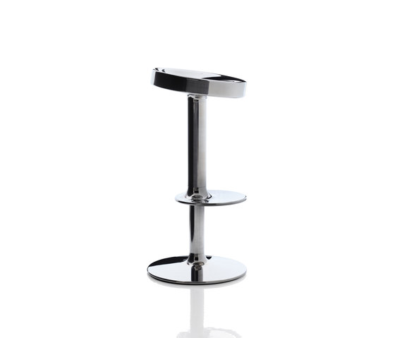 Sweet Stainless Steel Stool di Magis