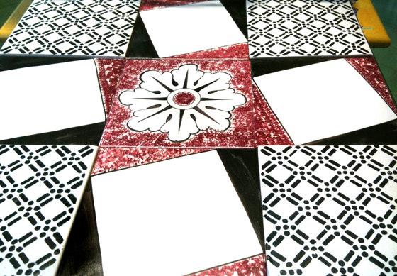 Bianco e nero di la riggiola prodotto - Tappeto bianco e nero ...