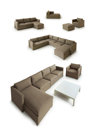 Shape Sofa left module di Cane-line