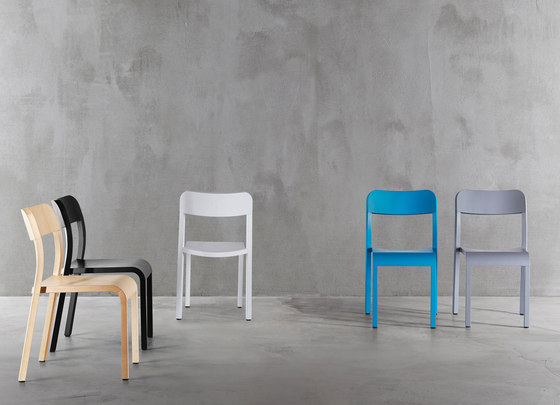 Blocco stool 8500-60 by Plank