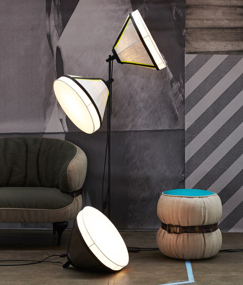 Drumbox floor by Diesel by Foscarini