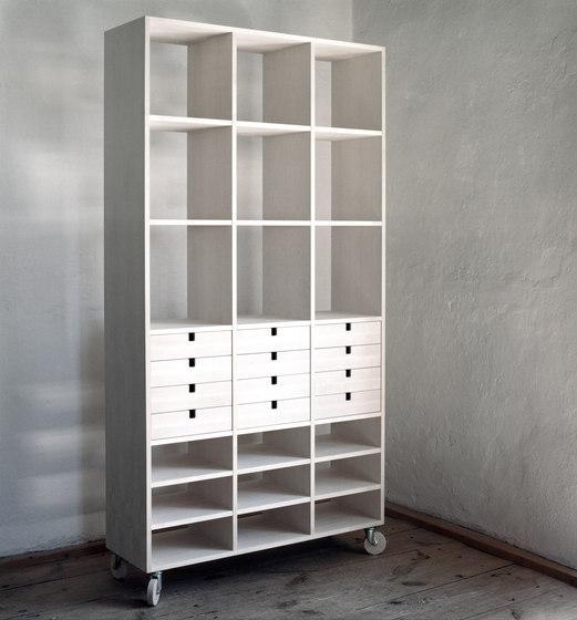 Kliq shelving system by Olby Design
