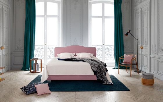 Sleeping Systems Collection Prestige | Headboard Louis XV by Treca Paris