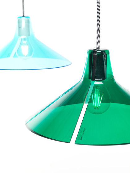 Jupe | plain diffuser green von Skitsch by Hub Design