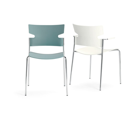 Stack chair by Materia