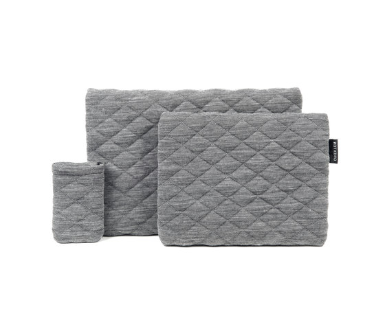 Quilted iPhone Sleeve by OBJEKTEN