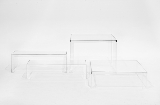 Invisible table by Kartell