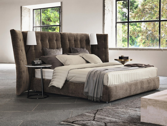 Angle Quilted headboard de Flou
