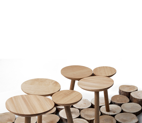 July Stool / Table by Nikari