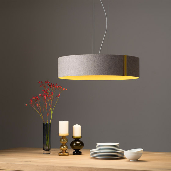 LARAfelt | Ceiling lamp by Domus