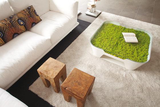 Sinkhole Table | Magazin rack by Verde Profilo