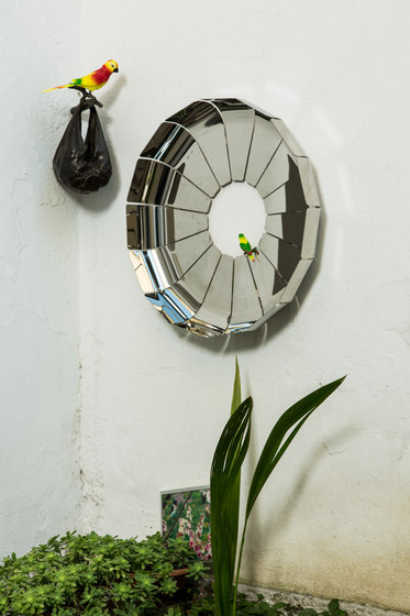 Daisy mirror by Covo