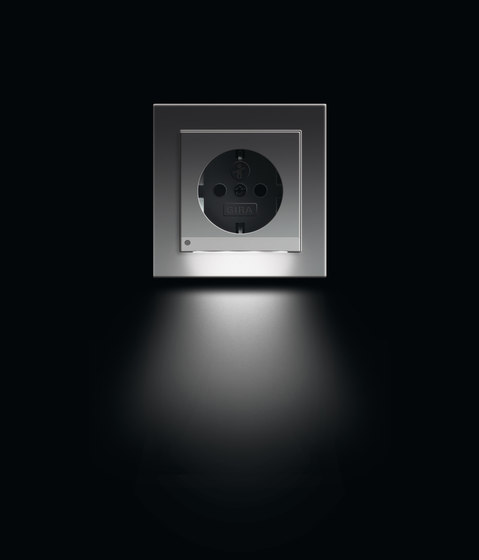 E2 | LED socket outlet by Gira