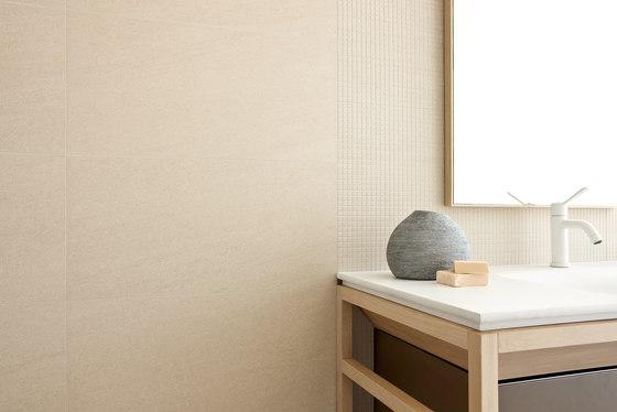 Arenaria Microban   Mosaico 1 sabbia by Lea Ceramiche