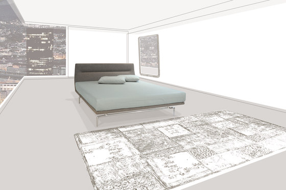 Lenao Bed by PIURIC