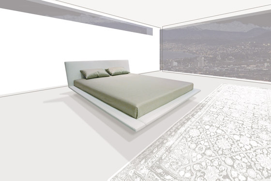 Sp Bed by PIURIC