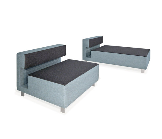 2cube Armchair Chaise Longue by PIURIC