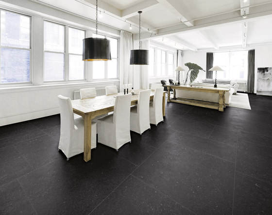 Blue mountain | Crystal black by Lea Ceramiche