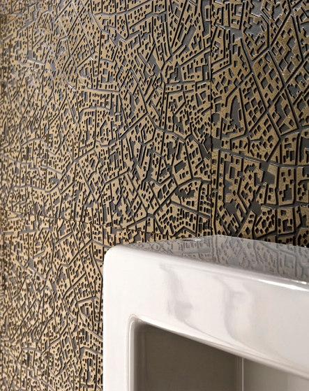 City | Cordusio bronze 3D by Lea Ceramiche