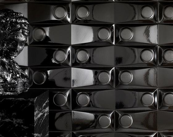 Goccia | Tune in black matt by Lea Ceramiche