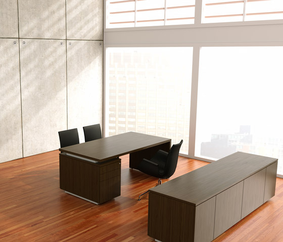 Brand desk modesty leather de M2L