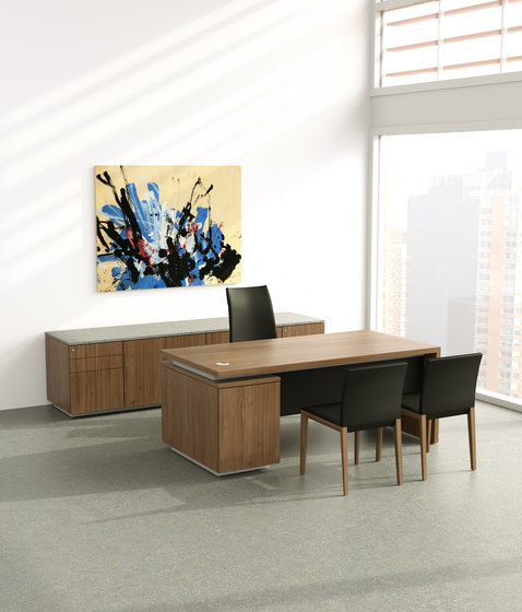 Brand desk modesty leather by M2L