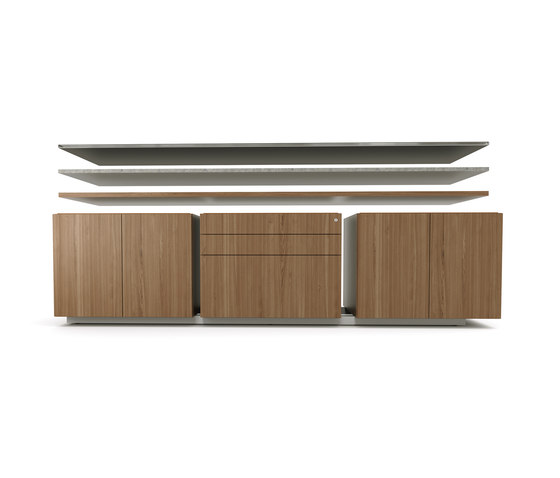 Brand credenza wood top by M2L
