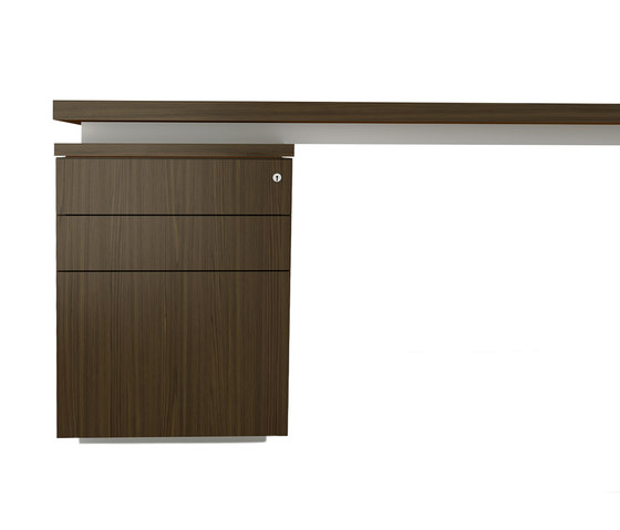 Brand L-desk wood leather von M2L