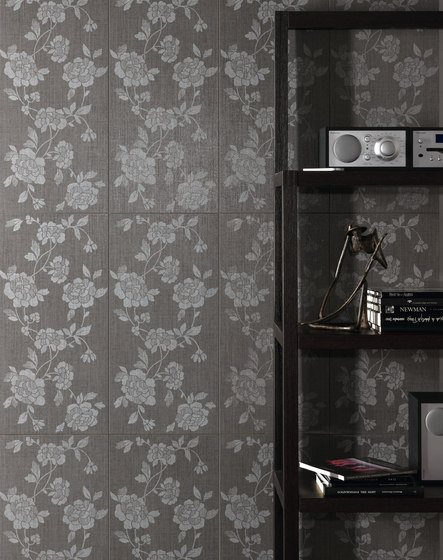 Makò | Decoro wallflower java scuro von Lea Ceramiche