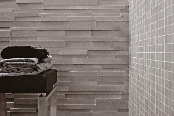 Masterplan | Decoro muretto 3D grigio by Lea Ceramiche