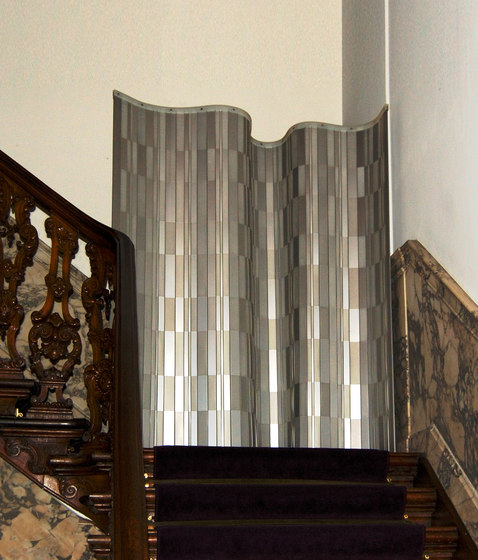Winoldi Roomdividing screen Vider chrome di JAN WILLEM de LAIVE