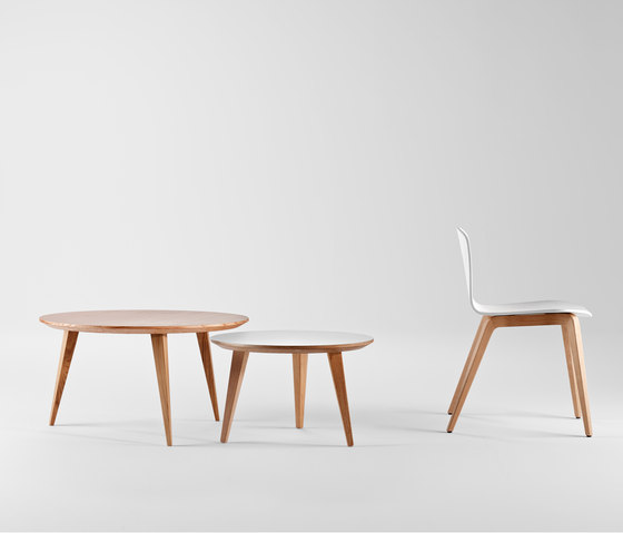 Bob XL Wood Chair with Armrests by ONDARRETA