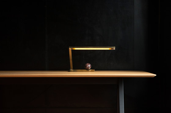 Oud Lamp Brass by Resident