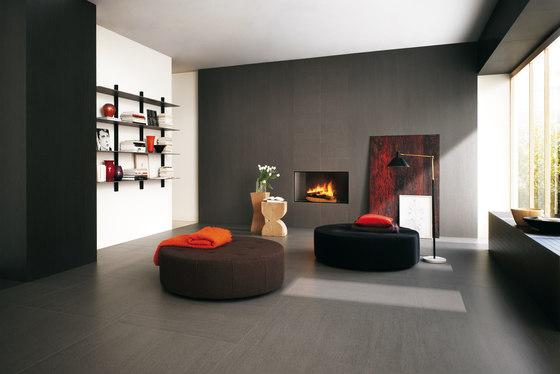 Slimtech Basaltina | Mosaico quadro sabbiata by Lea Ceramiche